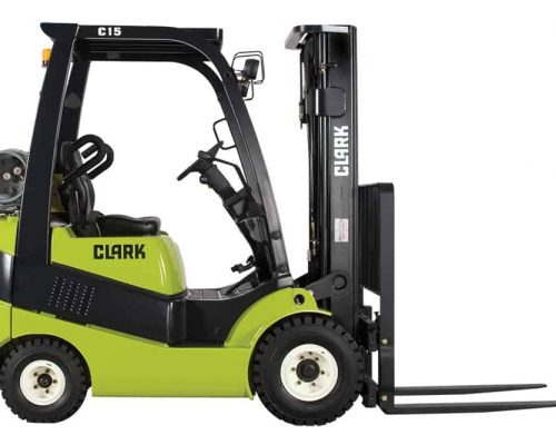 CLARK FORKLIFT WITH DIESEL OR LPG DRIVE C15-20S (3)