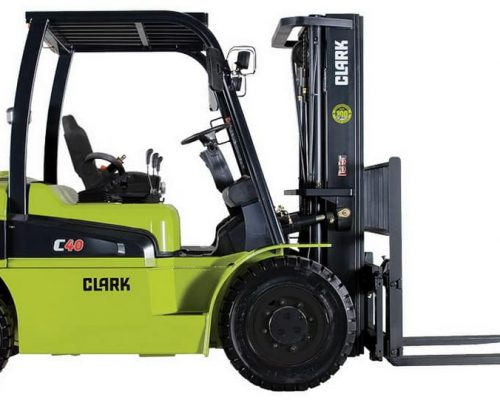 Clark Forklift with diesel or LPG drive C40-55s (1)