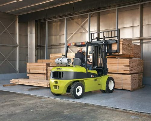 Clark Forklift with diesel or LPG drive C40-55s (3)