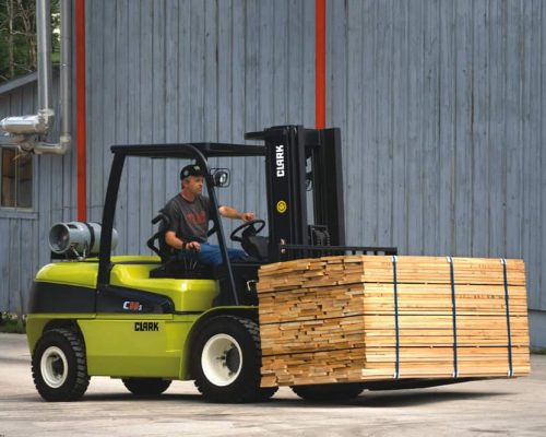 Clark Forklift with diesel or LPG drive C40-55s (4)