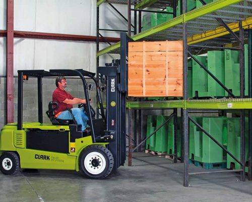 Electric four-wheel forklift GEX40-50 (3)