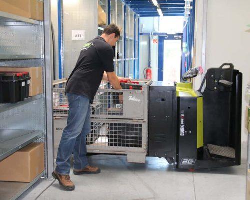 Electric low lift pallet truck PPFXS20 (3)