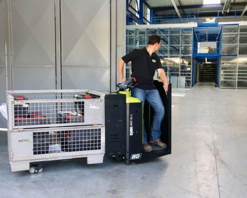 Electric low lift pallet truck PPFXS20 (4)