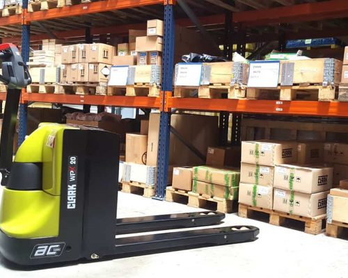 Electric low lift pallet truck WPX20 (3)